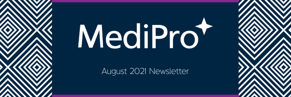 August 2021 Newsletter Header