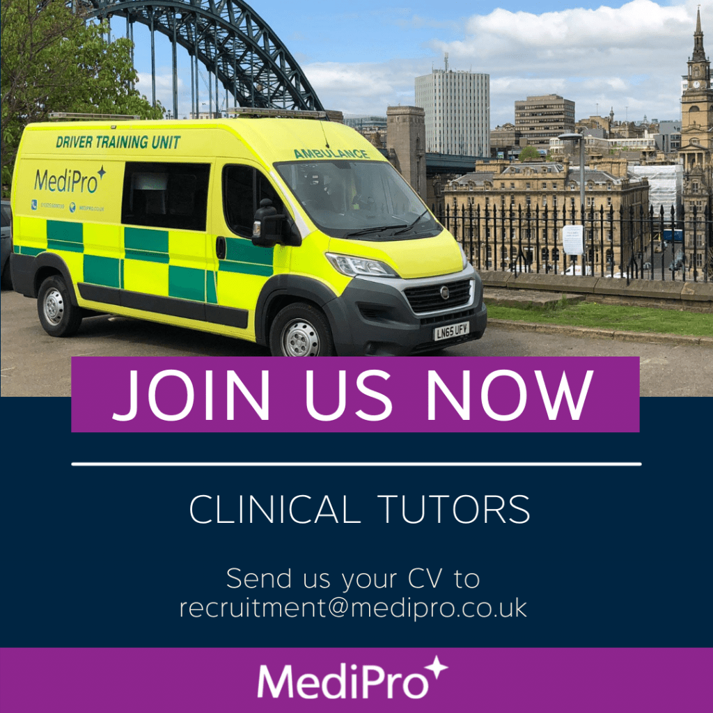 Join Us Now  Clinical Tutors Send us your CV to recruitment@medipro.co.uk